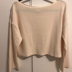 Never worn MPC cream colored sweater